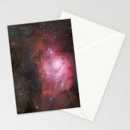 "GigaGalaxy Zoom project ""Lagoon Nebula"" Stationery Cards"