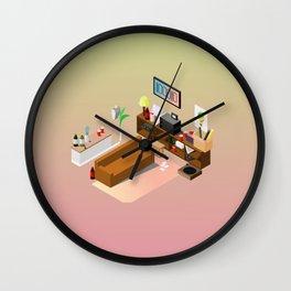 BTS - Isometric Run MV Wall Clock
