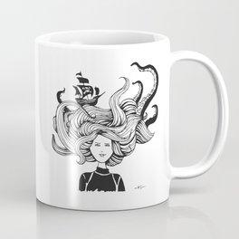 """"""" Sea Battle"""" Hair Coffee Mug"""