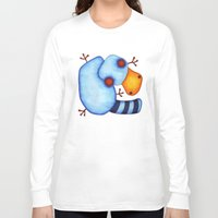 platypus Long Sleeve T-shirts featuring Platypus by Striped Aardvark