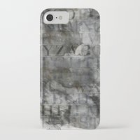 alphabet iPhone & iPod Cases featuring Alphabet by cafelab