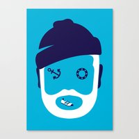 zissou Canvas Prints featuring Zissou ... by Adam Quest