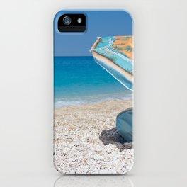 lefkada sea iPhone Case