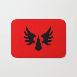Warhammer 40k Blood Angels Minimalist Poster Bath Mat