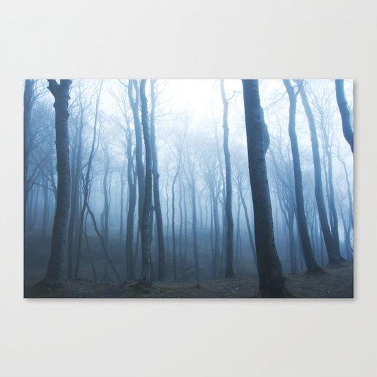 Foggy Woods #society6 #buyart Canvas Print