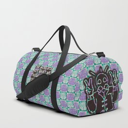 Peace inside Peril Duffle Bag