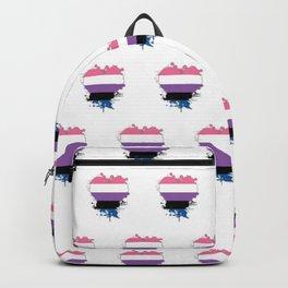 Genderfluid Heart Backpack