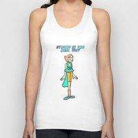 strong Tank Tops featuring Strong by GlassEyeSpy