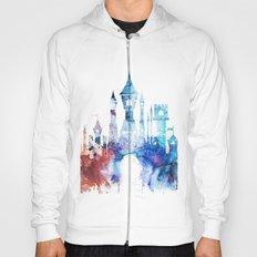 Watercolor fantasy castle Hoody