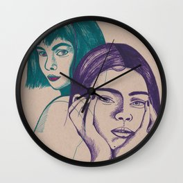 Confliction Wall Clock