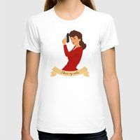 peggy carter T-shirts featuring Peggy Carter: I know my value. by semisweetshadow