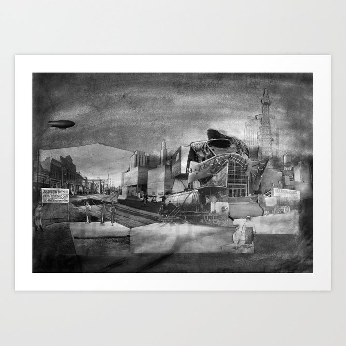 Asphalt Gallery (Art Gallery of Alberta) Art Print