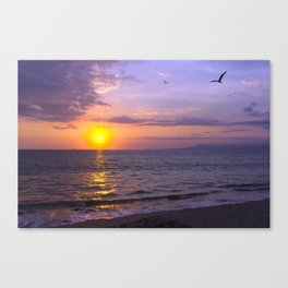Vallarta Sunset Canvas Print