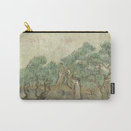 Vincent van Gogh The Olive Orchard 1889 Painting Carry-All Pouch