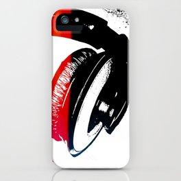 Headphones iPhone Case