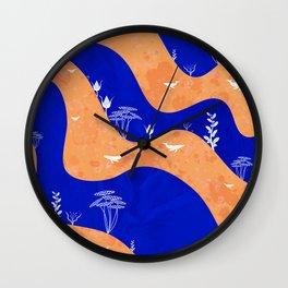 Cozy autumn landscape II Wall Clock