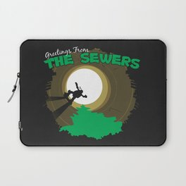 Greetings From the Sewers Laptop Sleeve