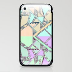 Aztec print illustration iPhone & iPod Skin