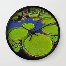 Water Platters Wall Clock