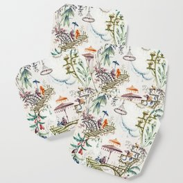 Enchanted Forest Chinoiserie Coaster