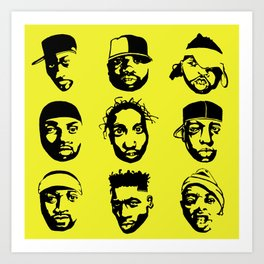 The Almighty Wu Art Print