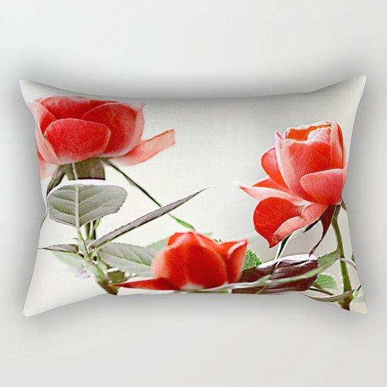 Romantic roses(8). Rectangular Pillow