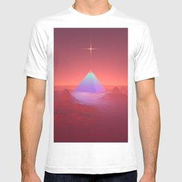 Blue Pyramid T-shirt