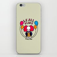 pennywise iPhone & iPod Skins featuring We All Float Down Here by Oh Rocky