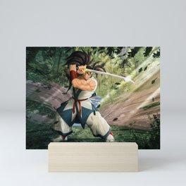 Samurai full size Mini Art Print