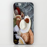 hats iPhone & iPod Skins featuring Hats by L'Ale shop
