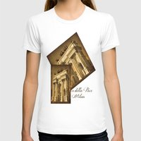 milan T-shirts featuring Arco della Pace Milan by Louisa Catharine Photography