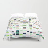 dna Duvet Covers featuring DNA by insemar
