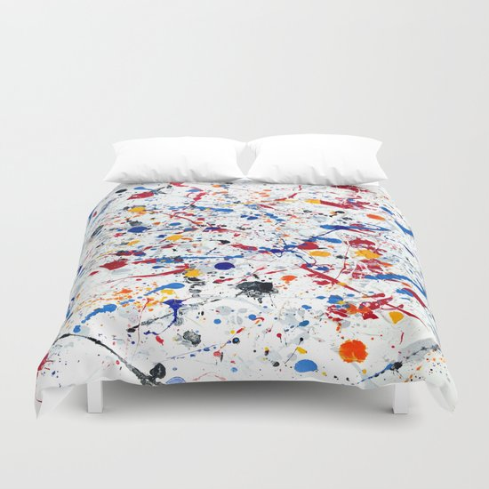 Abstract #3 - Exhilaration Duvet Cover