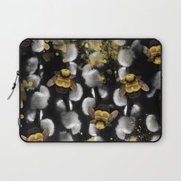 Bumble Bee Willow Laptop Sleeve