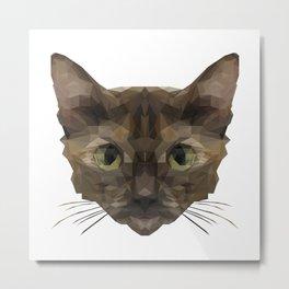 Cullen The Cat Metal Print