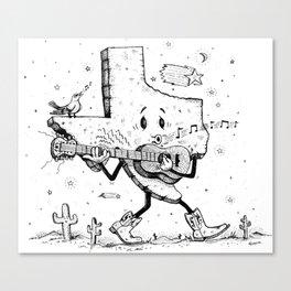 Texas Music Canvas Print