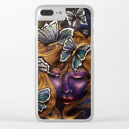 Messengers From Heaven Clear iPhone Case