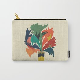 Potted staghorn fern plant Carry-All Pouch
