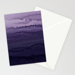 WITHIN THE TIDES ULTRA VIOLET by Monika Strigel Stationery Cards