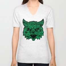 Kitty Witches Unisex V-Neck