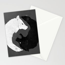 Feed the Wolves Stationery Cards