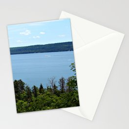 Perfect Day on Lake Superior Stationery Cards