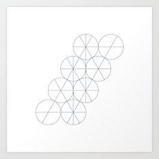 #439 Pivotal – Geometry Daily Art Print
