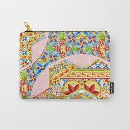 Gypsy Caravan Boho Heraldic Carry-All Pouch