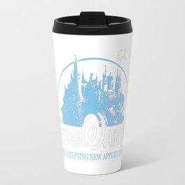 HarryPotter Funny Hogwarts Now Accepting Travel Mug