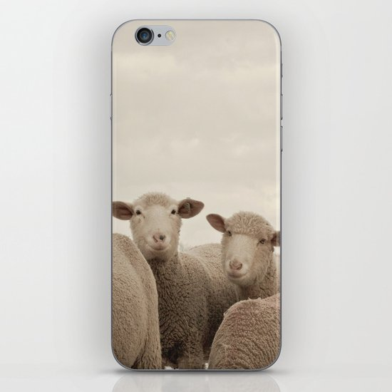Smiling Sheep  iPhone & iPod Skin