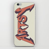 artsy iPhone & iPod Skins featuring Artsy too by Scott Erickson