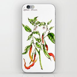 Plants & Herbs Edition iPhone Skin