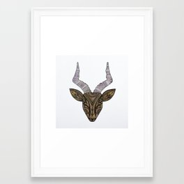 Gazelle Framed Art Print