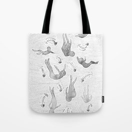 Under the Bed Tote Bag